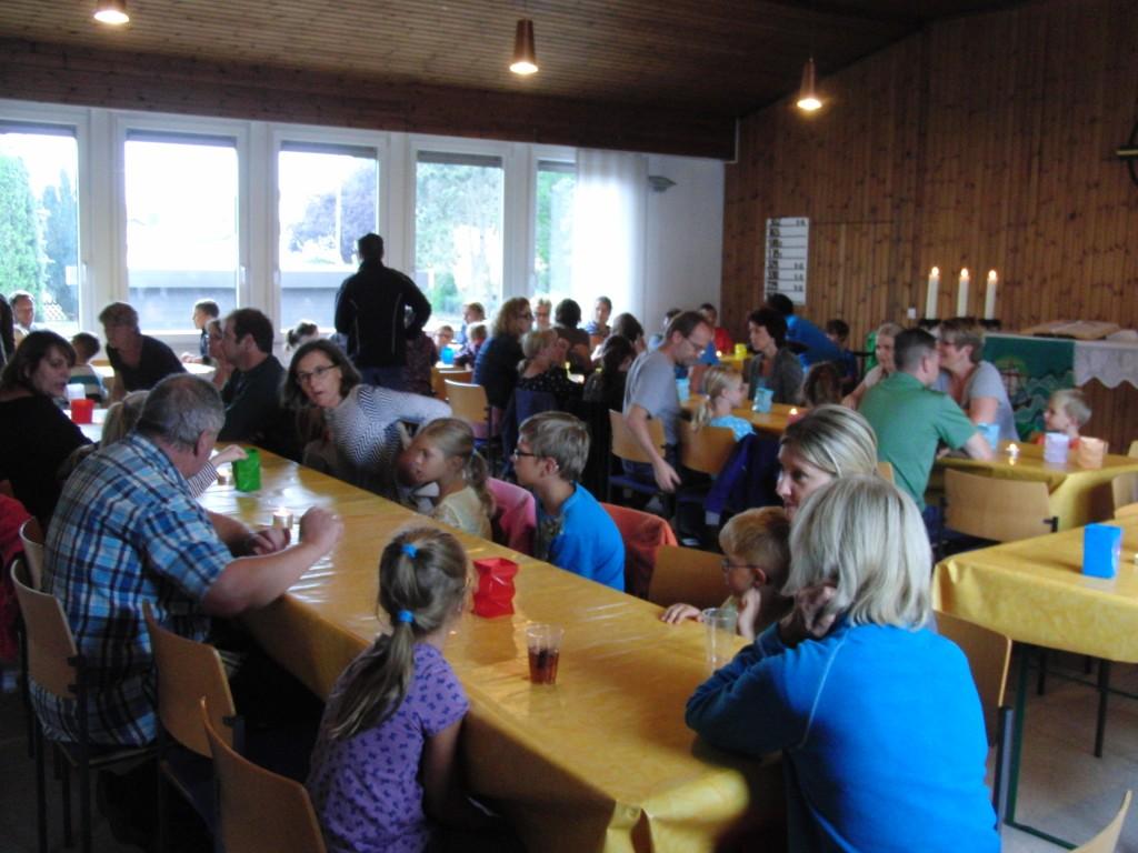 Ferienpassaktion Vohburg 2015: Lampiondinner